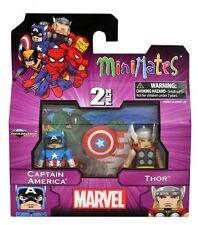 MiniMates: Marvel Best of Series 1 Captain America and Thor Mini Figure 2-pack