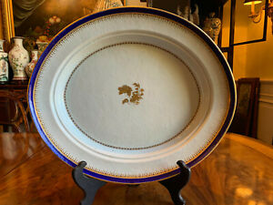 A Very Large Antique Chinese Export Deep Platter, 18th C.
