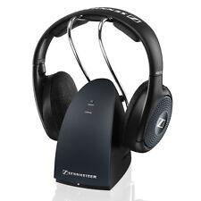 Sennheiser RS 135 Stereo Wireless Headphones RF TV Listening System WARRANTY