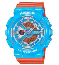 Casio Baby-G * BA110NC-2A Anadigi Gloss Blue & Orange COD PayPal
