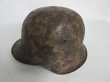 Wehrmacht  DAK Südfront Stahlhelm M42 Rauhtarn  WK2 WWII WH