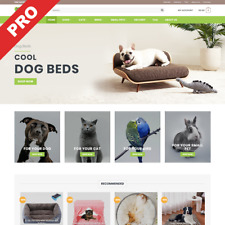 PET STORE | Turnkey Dropshipping Business | Premium Website For Sale