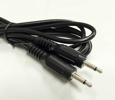 "6ft - 3.5mm Male to Male Mono Audio Patch Cable Cord 1/8"" TS Plug Mic Micro"