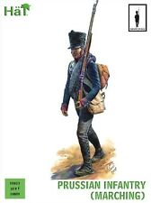 HAT Plastic 28mm Napoleonic  Prussian Infantry Marching Soldiers Set Boxed 28013