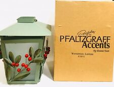 "2002 Pfaltzgraff Accents Portfolio by Dennis East 8"" Winterwood Lantern #23311"