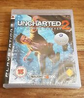 UNCHARTED 2 Jeu Sur Sony PS3 Playstation 3 Neuf Sous Blister Version Anglaise