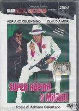 Dvd **SUPER RAPINA A MILANO** con Adriano Celentano Claudia Mori nuovo 1964