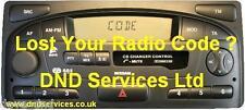 Nissan Radio código decodificar Unlock-et Terrano 2