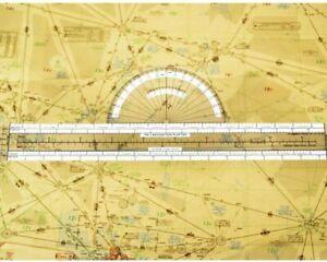 Jeppesen Plotter - PN-1 Navigation Plotter for All Pilots