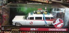 Jada 1/24 Scale Model Car  Cadillac Ecto-1 movies Ghostbusters