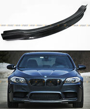R STYLE CARBON FIBER FRONT BUMPER CENTER CHIN LIP SPOILER FOR 2012-2015 BMW M5