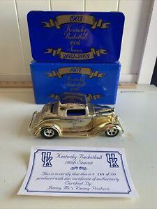 Kentucky Wildcats 1932 Ford Diecast Car Bank Ertl