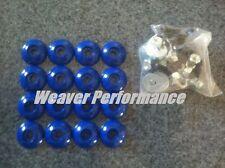 Go  00004000 Kart Racing G-Man Body Mount Kit Body Mounting Fiberglass Plastic Blue