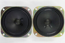 "(2) NEW Advantz 4"" Speaker Pair 8 Ohm 5 W Max 820986 Car Trailer Camper RV"