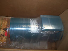 NEW RELIANCE 3/4 HP DC ELECTRIC MOTOR MF56HC T56S5011A 180 VDC 1750 RPM TENV
