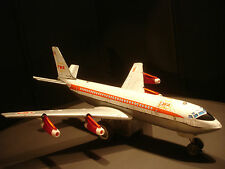 Vintage Twa Airlines Boeing Superjet 707 Tin Japan Motorized Lighted Rare