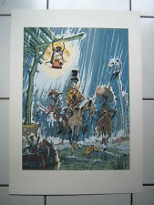 CROMWELL   /  SERIGRAPHIE   NUM SIGN  150  EX   / 50 X 70 CM  ANAGRAPHIS 1989