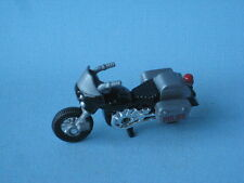 Matchbox Police Motorcycle Black and Silver Toy Model in Blister Pack