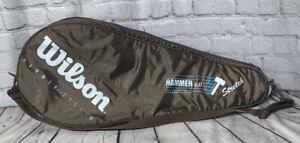 Rsre  Original Wilson  4.0 Hammer System Tennis Racquet Racket  Carry Bag Case