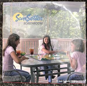 SunSetter Sun Setter Screenroom DVD Brand New Unopened Installation Screen Room