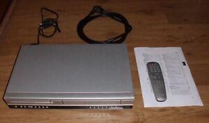 Philips DVP3055V DVD-Player und Videorekorder Kombination (Farbe: silber)