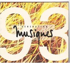 GENERATION MUSIQUES 93 compilation CD PROMO zazie jean pierre mader erika