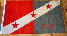 New listing Alpha Sigma Phi Flag 3' x 5' - Metal grommets