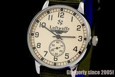 LUFTWAFFE Vintage Military style Pilot's mechanical wrist watch Pobeda