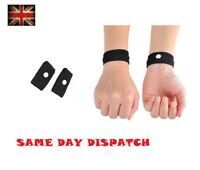 2 Anti Nausea Morning Sickness Motion Travel Sick Wrist Bands Air Car Sea Plane