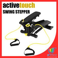 Active Touch Swing Stepper Fitness Heimtrainer Fitnessbänder Swingstepper WOW