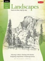 Drawing: Landscapes with William F. Powell: Learn to Paint Step by Step (Paperba