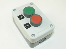 Start Stop Pushbutton Control Station Plastic Nema 4/4x 250/UL 50 NEW CC2P215