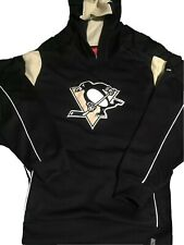 Men's NHL Reebok Face Off Collection Pittsburgh Penguins Hoodie Sweatshirt M