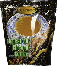 New Gold Choice - Instant Tongkat Ali Ginseng Coffee - 5 Bags x 20 sticks/sachet