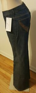 The Look by Randolph Duke Flare Leg Woman's Jeans In Size 10 ~ NWT