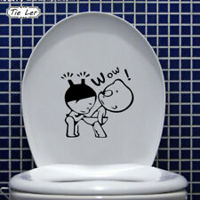 Funny Cartoon Wall Stickers 3D Decal Mural Decor Bathroom Wallpaper For Kid Room