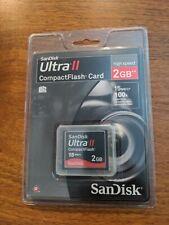 SanDisk Ultra 2GB CompactFlash I Card - SDCFH-002G-A11
