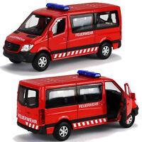 Mickon 50094 Décalques MB Sprinter MTF PL pompiers Bremen adapté Herpa 1:87 h0