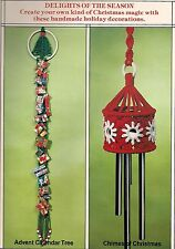 Advent Calendar & Christmas Chimes Patterns #1072 Macrame Merry Makers Holidays