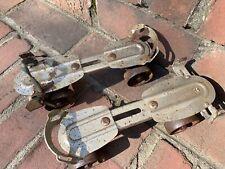 Antique Chicago Steel Roller Skates Stamped With Patent Number, Vintage