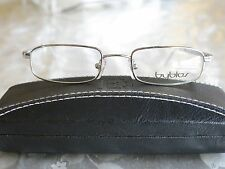 Byblos Eyeglass Frames polished chrome Mod. 704 3002  Size 48-19 Made in Italy