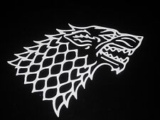 Stark Direwolf Game Of Thrones Vinyl Decal Car Truck Wall Sticker 75009