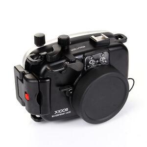 Meikon 40M Waterproof Underwater Housing Camera Case Bag for Fujifilm Fuji X100S