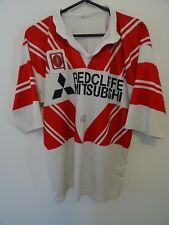 Circa 1990's Game Worn Player's Jersey Redcliffe Dolphins Brisbane Rugby League