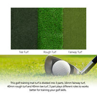 "25"" x 16"" Commercial Golf Tri-Turf Hitting Putting Grass Mat Golf Practice Mat"