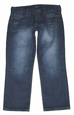 LUCKY BRAND womens Sweet Dream Crop cropped Jeans handcrafted dark wash 8 / 29
