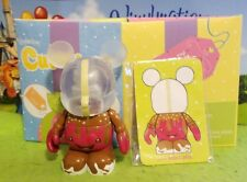"Disney Vinylmation 3"" Park Set 2 Cutesters Too Chaser Caramel Apple Box & Card"