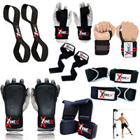 Onex Gel Padded Weight Lifting Training Gym Straps Hand Bar Wrist Support Gloves