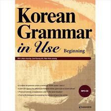 Korean Grammar in Use Beginning Textbook mp3 CD English ver Language study