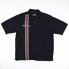 Vintage HARLEY DAVIDSON OFFICIAL Black Worker Shirt Size Mens XL
